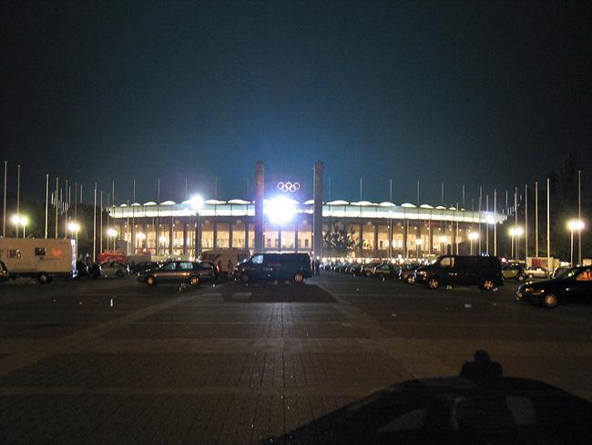 Стадион в Берлине - фото flickr.com