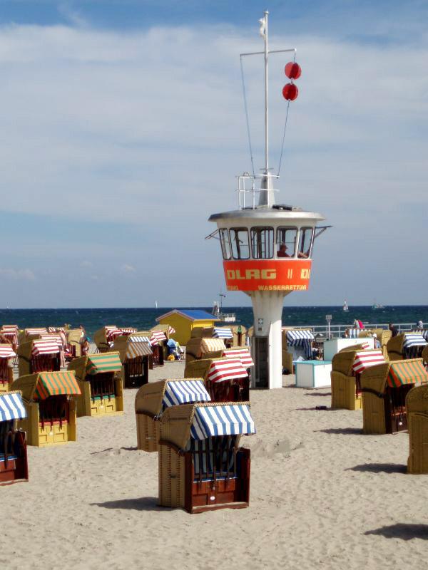 Германия - курорт Травемюнде - море - фото flickr.com