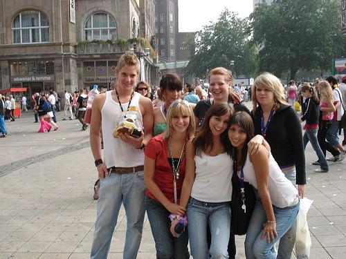 Берлин - Парад Любви - фото flickr.com
