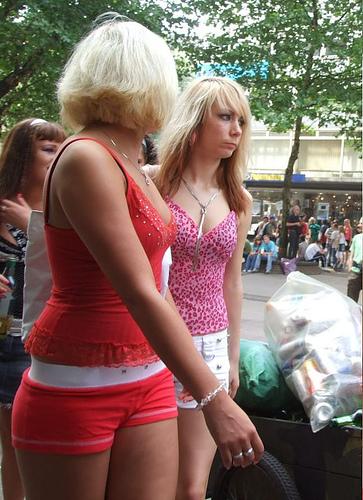 Девочки - Парад Любви - фото