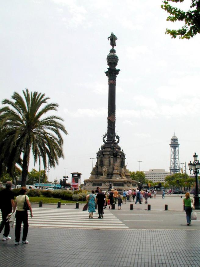 Испания Барселона площадь фото