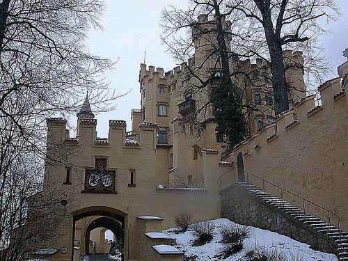 Замок Хоэншвангау - туры и экскурсии в замки Германии - фото flickr.com