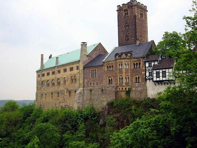 Замок Вартбург - экскурсии по городам Германии