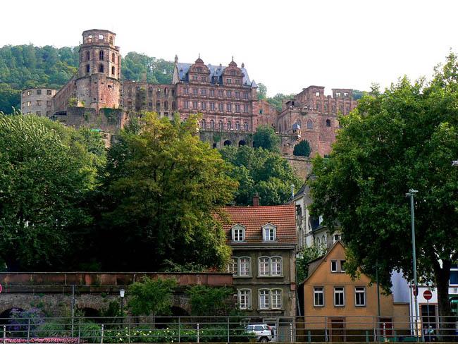 Гейдельбергский замок - экскурсии, посещение