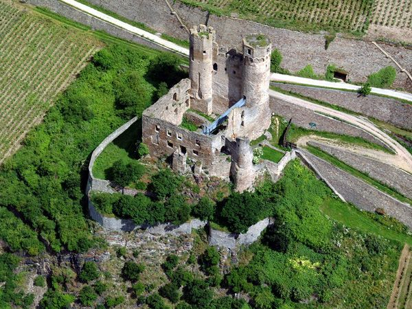 Эренфельс - Замок Германии - экскурсии