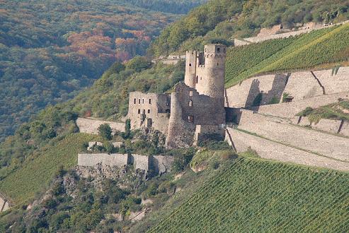Замок Эренфельс - Мышиная башня - фото flickr.com