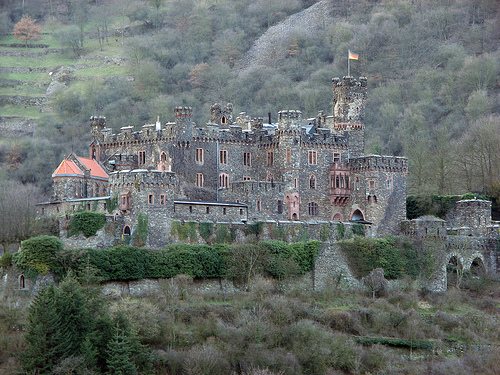 Замок Райхенштайн - Reichenstein -XI век - фото flickr.com
