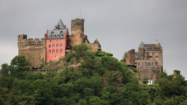 Замок Шенбург Германия - фото flickr.com