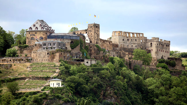 Замок Райнфельс - Германия - фото flickr.com