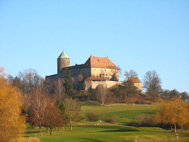 Замок Кольмберг - бывший замок бургграфов - фото flickr.com