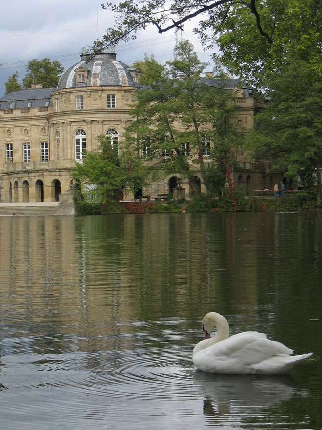 Дворец Монрепо - Германия - фото flickr.com