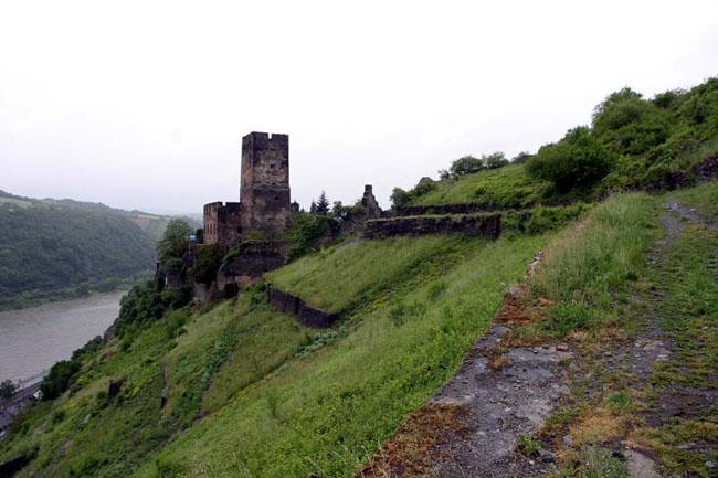 Германия: замок Гутенфельс - фото flickr.com