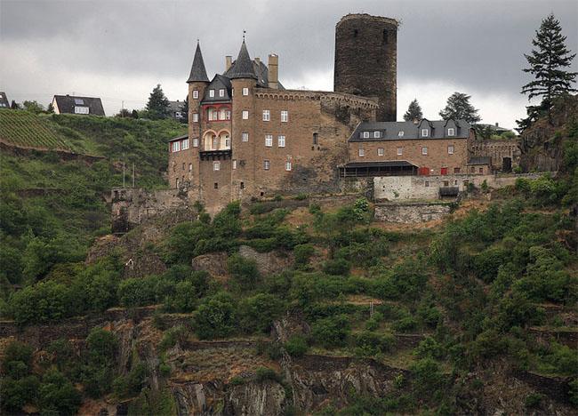 Замок Катц - в переводе «Кошка» - фото flickr.com