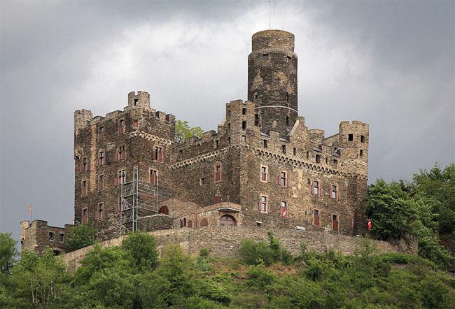 Замок Мышь - Германия - фото flickr.com
