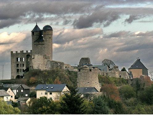 Германия: замок Грайфенштайн - фото flickr.com