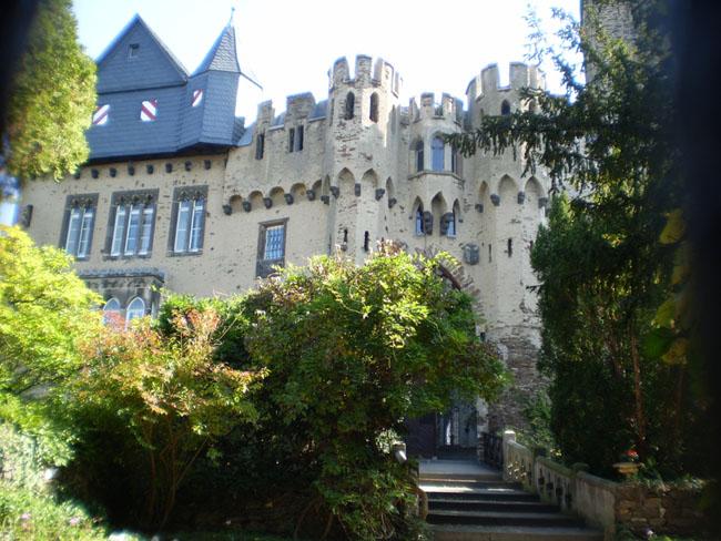 Замок Ланэк - Германия - фото flickr.com