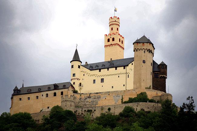 Замок Марксбург - Германия - фото flickr.com