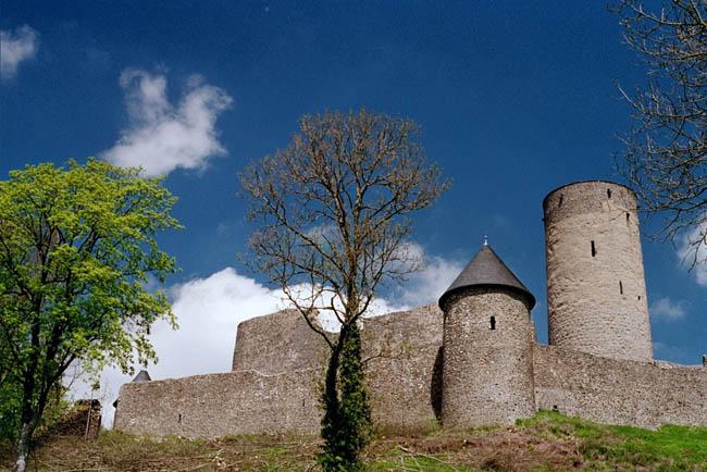Замки Германии: замок Нюрбург - фото flickr.com