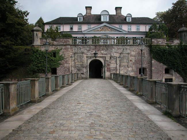 Замок Пирмонт - Германия - фото flickr.com