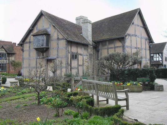 Где родился Шекспир - Родина Шекспира - Stratford-upon-Avon