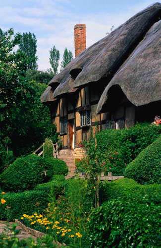 Stratford-upon-Avon - здесь родился Шекспир