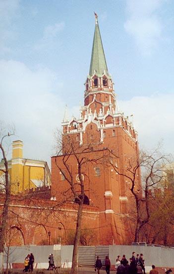 Башня Троицкая (Богоявленская, Ризположенская, Знаменская, Куретная)