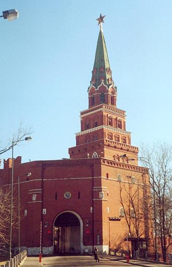 Башня Боровицкая (Предтеченская)