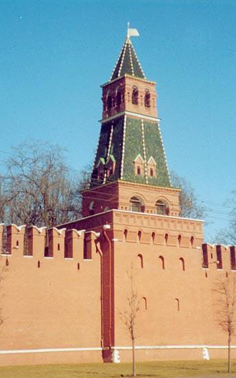 Башня 2-я Безымянная Московкого Кремля