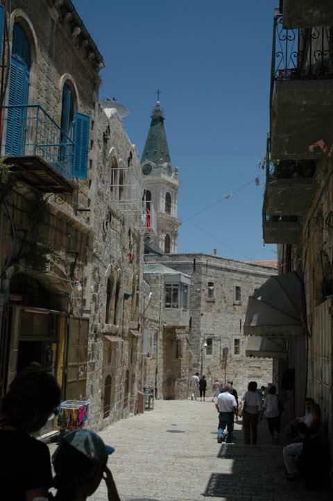 Иерусалим - старый город, улочки