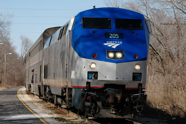Иллинойс - железная дорога - поезда - фото США