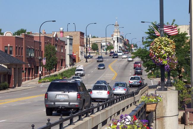 Иллинойс - улицы штата - фото