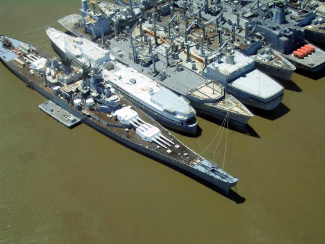 Штат Айова - корабли фото США