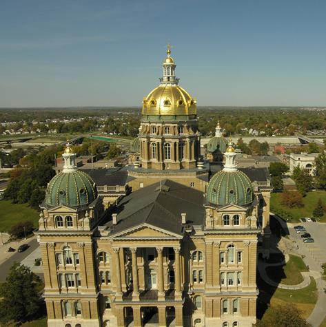 Штат Айова - капитолий - фото США