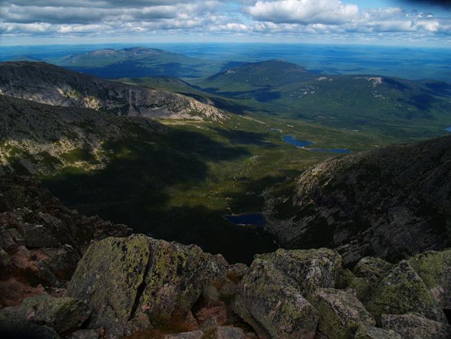 Штат Мэн - США - фото - Mount Katahdin