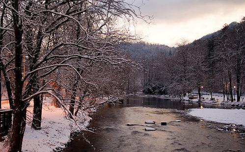 Северная Каролина - зима - фото штатов США