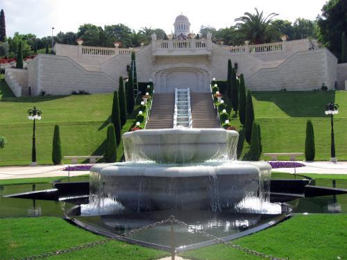 Парк Бахайского храма - Акко - фото botinok.co.il