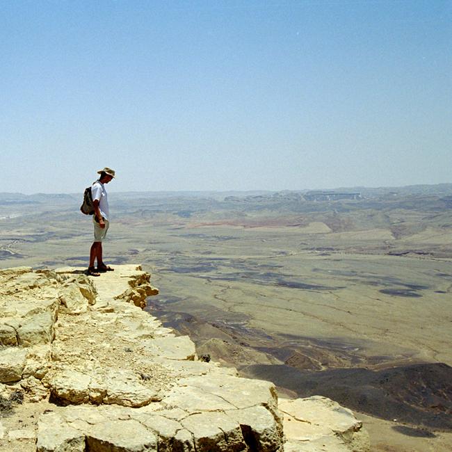 Пустыня в Израиле - фото