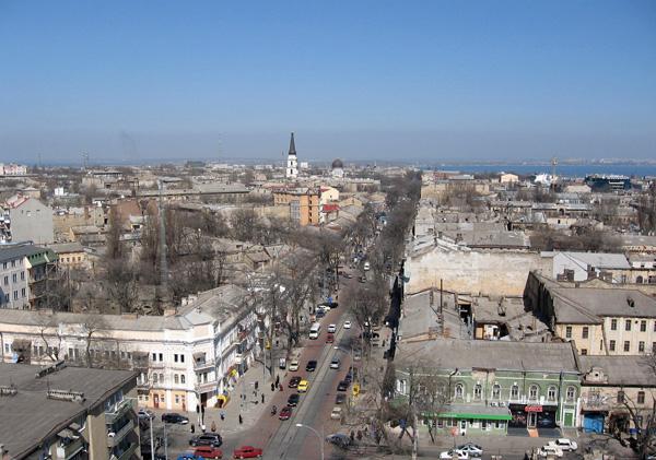Одесса- центр города - фото