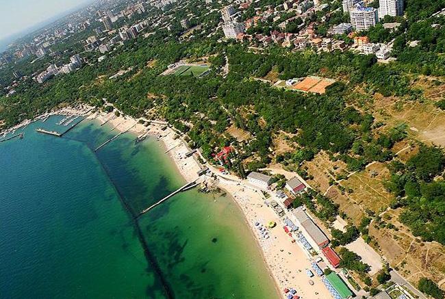 Пляж Ланжерон в Одессе - фото