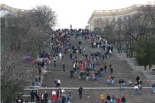 Одесса - Потемкинская лестница - фото
