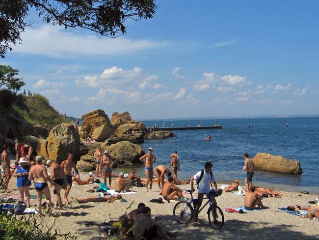Пляж в Одессе - фото