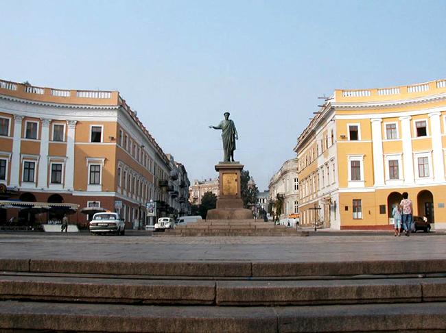 Одесса - Памятник Дюку де Ришелье  - фото