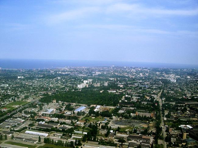 Одесса с воздуха - фото