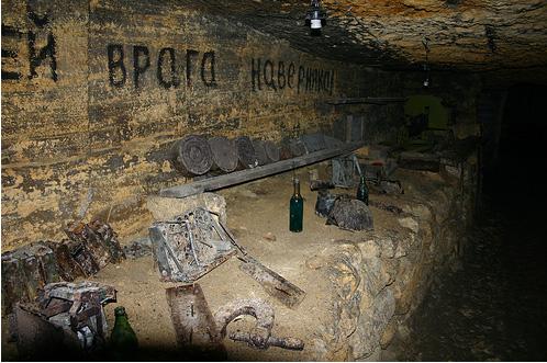 Катакомбы в Одессе - фото
