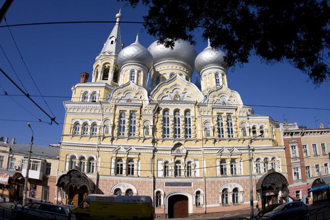 Собор в Одессе - фото