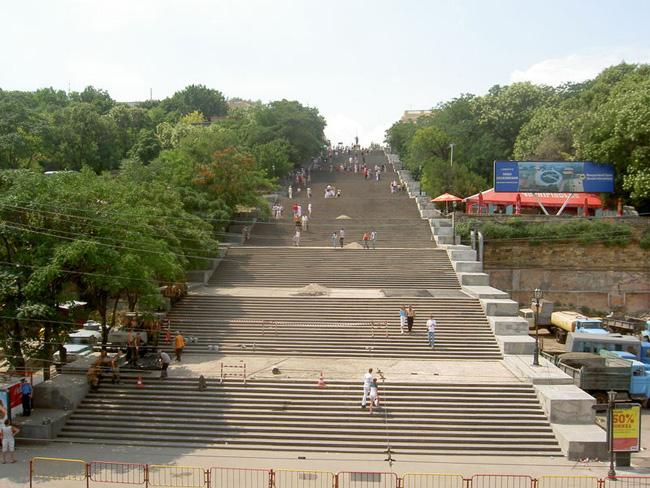 Потемкинская лестница - фото
