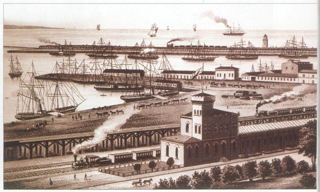 Одесский морской порт - фото