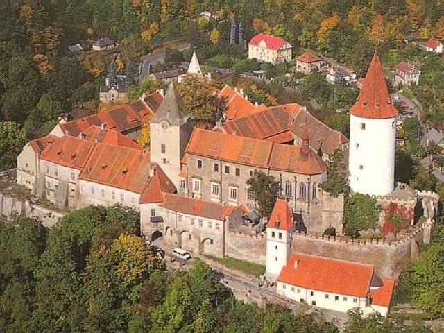 Крживоклад - очень старый замок Чехии