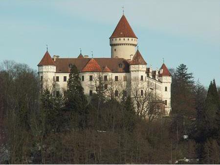 Замок Конопиште - фото