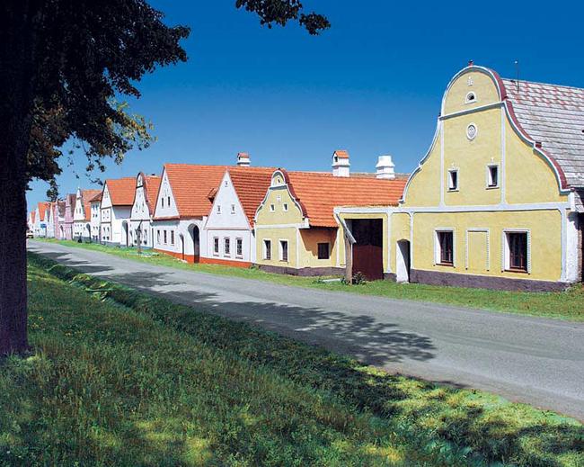 Голашовице - город в Чехии - фото